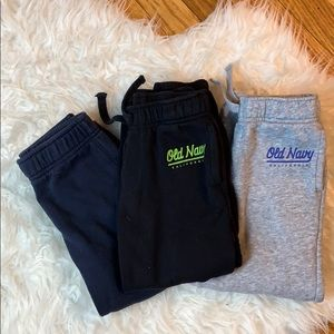 3 pairs Toddler Boys Sweats 4t